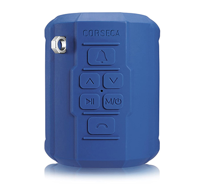 corseca (dms2700) roadie bicycle waterproof, dustproof & shock resistant wireless bluetooth speaker