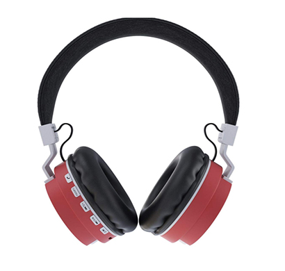 corseca (dm6200) carnival on-ear wireless headphones with built in mic (multicolour)