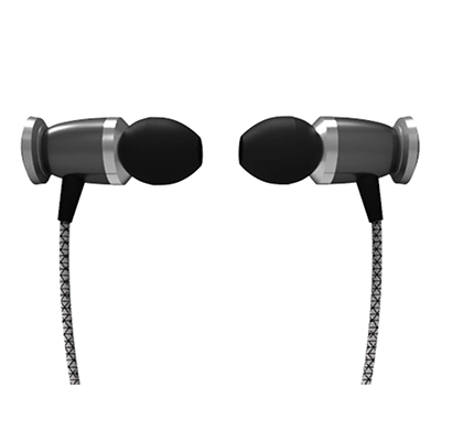 corseca nugget (dmhf30) bass driven metal stereo earphones with noise eliminating microphone