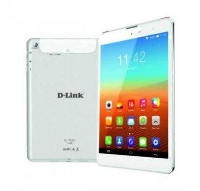d-link d100 white tablet with cover