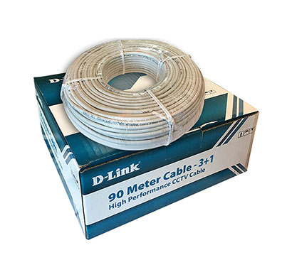 d-link (dcc-whi-90-4) premium cctv cable 90 meter