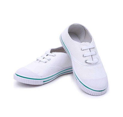 dayz school age uniform shoe-white t 20 ( 11x1,12x1 )
