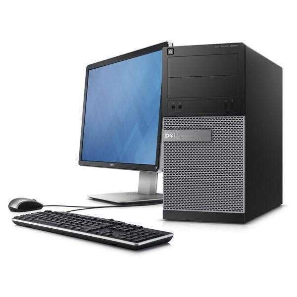 Dell Optiplex 3020 Core i5, 4GB RAM, 500 GB, DVD, Win 8 Pro, 18.5 Inch Desktop PC 3 Years Warranty Black