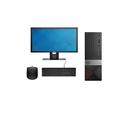 dell vostro 3471 mt desktop pc ( intel core-i5/ 9th gen/ 4gb ram/ 1tb hdd/ windows 10 + ms office/ with dvd/ 18.5