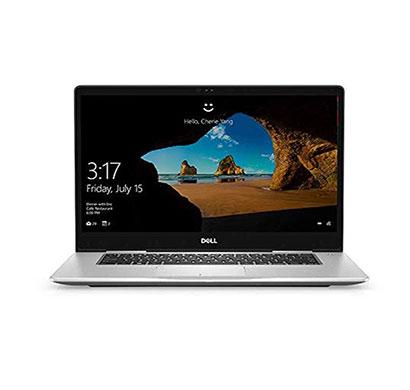 dell inspiron 15 7570 laptop (intel core i7/ 8th gen/ 8 gb ram/ 1 tb hdd + 256 gb ssd/ windows 10/ 4 gb graphics/ 15.6 inch) silver