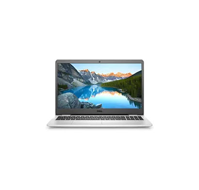 dell inspiron 3505 laptop(amd ryzen 5-3500/ 8gb ram/ 512gb hdd/ windows 10 home + ms office/ 15.6-inch fhd/ 1 year warranty), silver