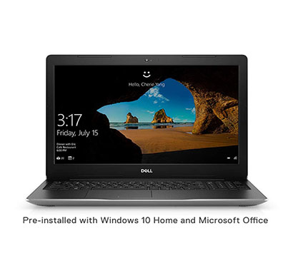dell inspiron 3593 laptop (intel core i5/ 10th gen/ 4gb ram/ 1tb hdd/ no dvd/ windows 10 + ms office/ 15.6 inch fhd),1 year warranty