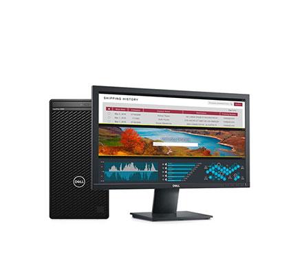 Dell Optiplex 3080 MT (Intel Core I5/ 10th Gen/ 4GB RAM/ 1TB HDD/ No ODD/ DOS/ 19.5 Inch Monitor/ 3 Years Warranty), Black
