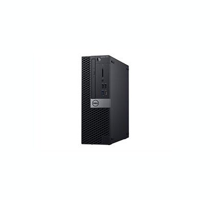dell optiplex 7070 sff (intel core i7/ 9th gen/ 32gb ram / 500gb hdd + 256gb ssd/ dvdrw / windows 10 pro/ usb kbd and mouse/ 2 years warranty), black