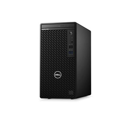 dell optiplex 3080 mt (intel core i3-10100/ 10th gen/ 4gb ram/ 1tb hdd/ dos/ no monitor/ 3 years warranty), black