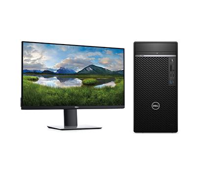 dell optiplex 7090 mt (intel core i7/ 11th gen/ 8gb ram/ 1tb hdd/ ubuntu/ dvd rw/ 22 inch/ 3 years warranty), black