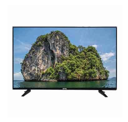 detel 24 inch (60 cm) led tv with 1 year warranty/ black (di24sf)