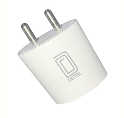 detel (d09) adapter 2.4a usb charger