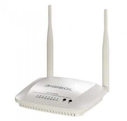 digisol dg-bg4300nu 300 mbps wireless adsl2+ router with usb port