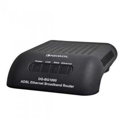 digisol dg-bg 1000 + single port ethernet broadband