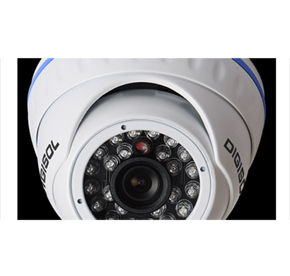 digisol (dg-sc6202) 1.3mp dome ip cctv camera, 3.6mm lens,ir20m, poe