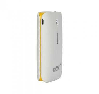 digital essentials 5200 mah white power bank