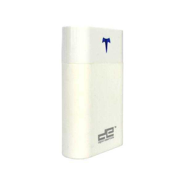Digital Essentials 7800 mAh White Power bank