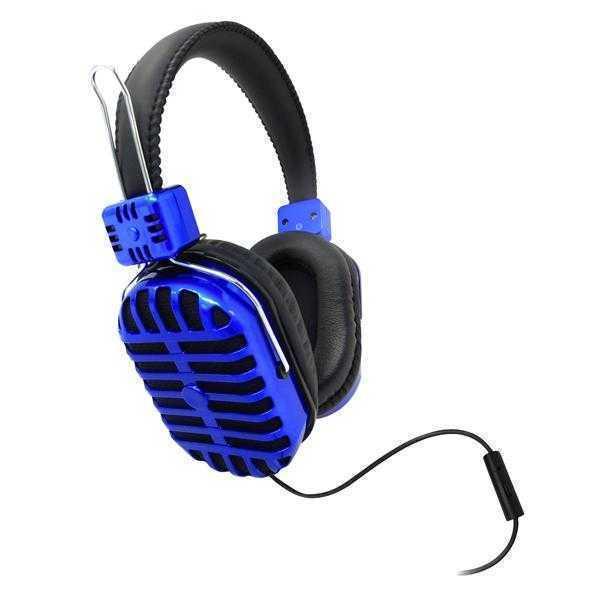 Digital Essentials Armor Headphones with Mic - Blue