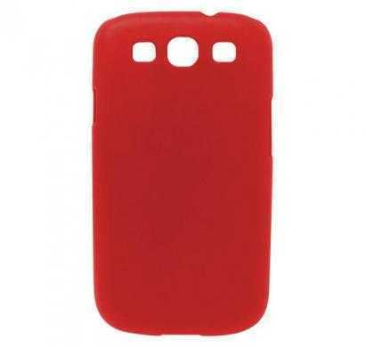 digital essentials samsung galaxy s3 back case - red