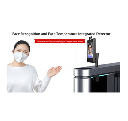 dv q8 face recognition & face temperature integrated detector