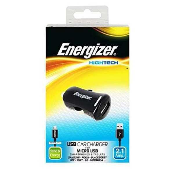 Energizer High Tech In car charger 1USB 10 Watts for Samsung
