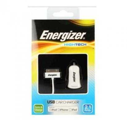 energizer high tech usb in car charger for iphone/ipod/ipad