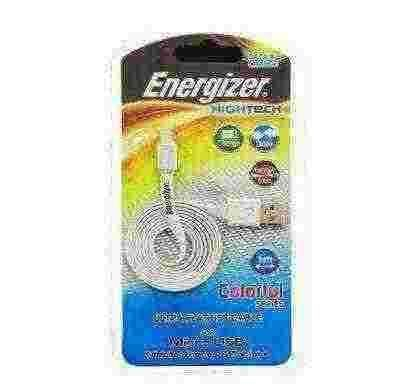 energizer hightech ultra flat  micro-usb cable charge + data - white