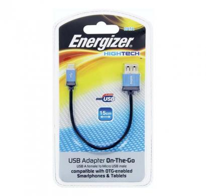 energizer hightech usb adapter on-the-go for micro-usb smartphones & tablets