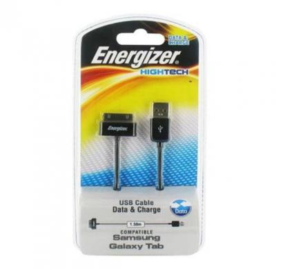 energizer hightech usb data cable for samsung galaxy tab 1.5 m