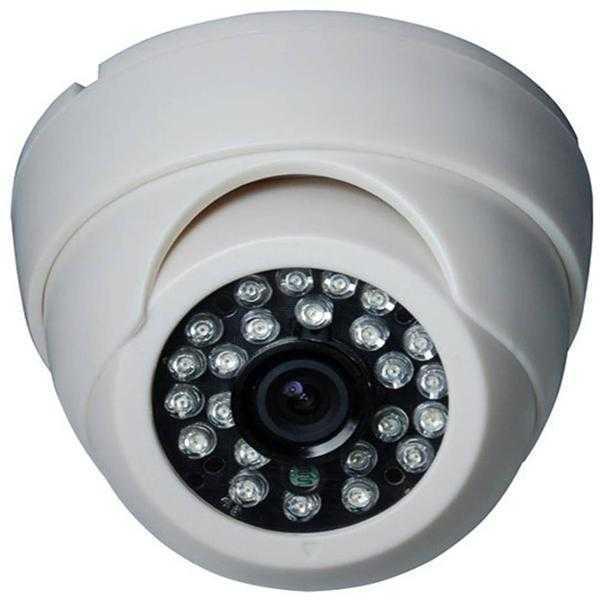 ENTER E-D700IRSW Dome CCTV Camera (White)