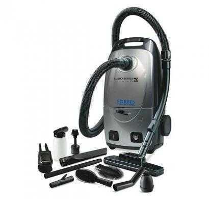 eureka forbes trendy dry vacuum cleaner grey & black