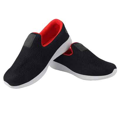 firemark men's running shoes /navy red