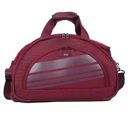 fly sapphire dft 58 cms brown duffel trolley bag