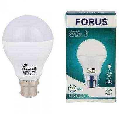forus 7w cool white led bulb