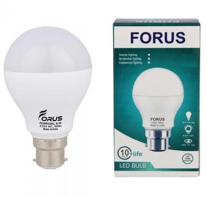 forus 9w cool white led bulb