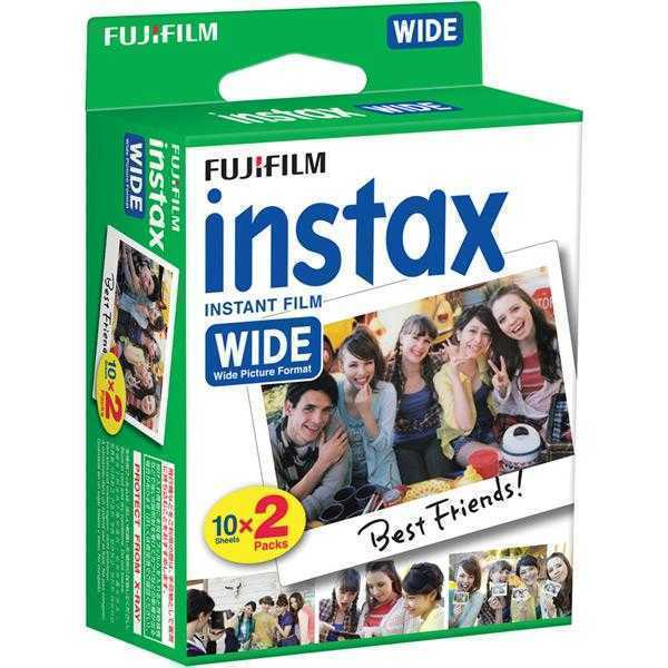 Fujifilm Instax Mini Picture Format Film (20 SHOTS