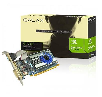 galax nvidia geforce gt-710 1gb gddr3 64-bit hdmi/dvi-d/vga graphic card