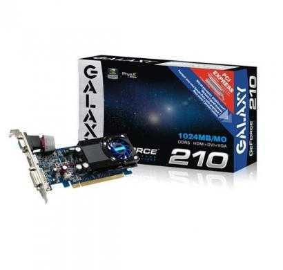 galaxy nvidia geforce 210 1 gb ddr3 graphics card