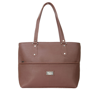 gd fashion pu leather women handbag (brown)