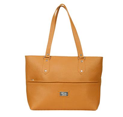 gd fashion pu leather women handbag ( mustard)