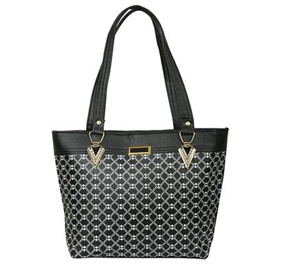 gd fashion pu leather women handbag ( black)