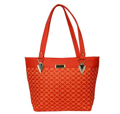 gd fashion pu leather women handbag ( red)