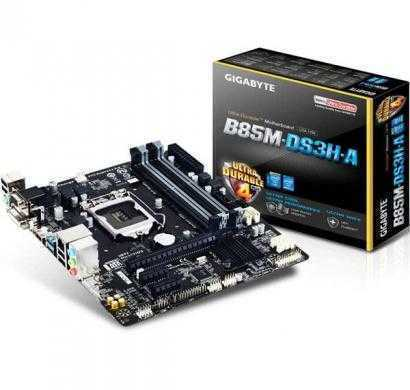 gigabyte ga-b85m-ds3h-a lga 1150 intel b85 hdmi sata 6gb/s usb 3.0 micro atx intel motherboard