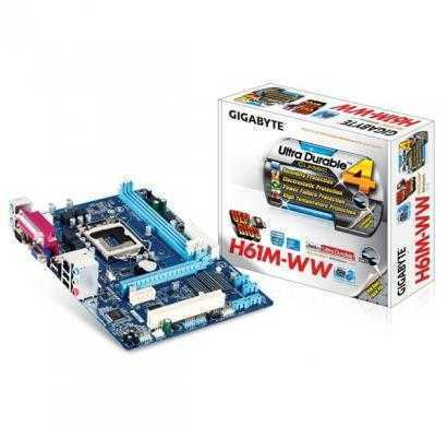 gigabyte ga-h61m-ww intel motherboard