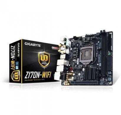 gigabyte ga-z170n-wifi lga 1151 intel z170 usb 3.0 mini itx intel motherboard
