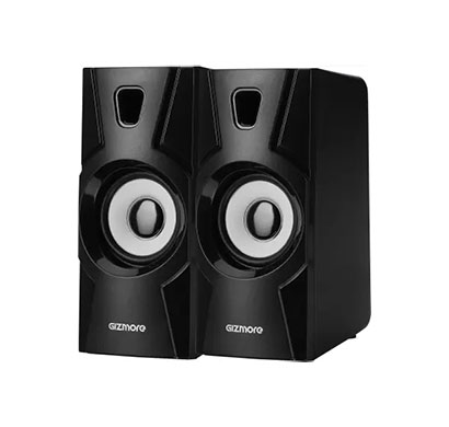 gizmore twin 2010 10w multimedia speaker (black)
