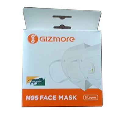 gizmore n95 kn95 ffp2 respirator reusable 5 layer mask