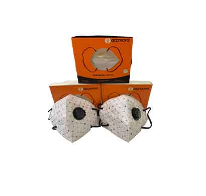 gizmore n-95 anti-bacterial mask with respirator (zmr07)