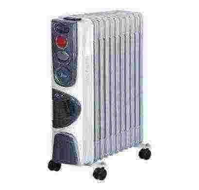 glen oil filled radiator gl 7011 (grey & black)